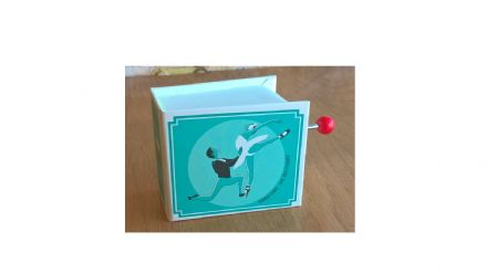 Swan Lake Hand Cranked Musical Box